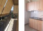 Διαμέρισμα 2ου ορόφου, 48τμ, Άνω Πετράλωνα (μπαλκονι-κουζινα)