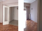 Διαμέρισμα 2ου ορόφου, 48τμ, Άνω Πετράλωνα (σαλόνι)